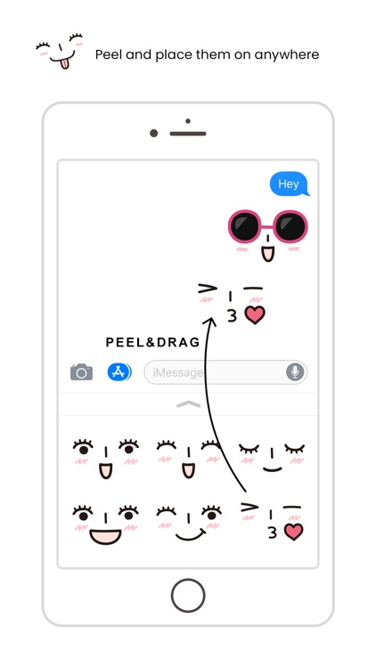 Face Emojis Sticker Pack