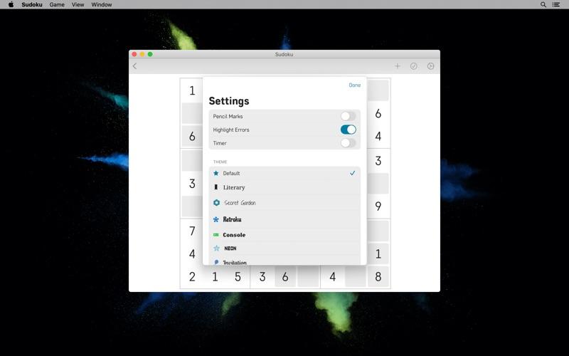 Sudoku Sketch for Mac