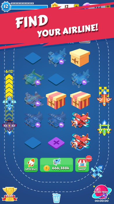 Merge Plane - Best Idle Game - 窓用