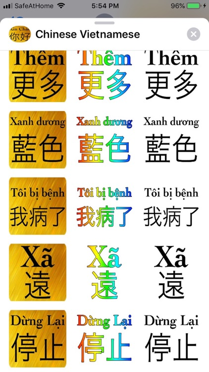 Chinese Vietnames screenshot-7