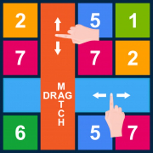 Rows and Columns: Drag n Match