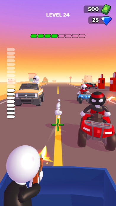 Rage Road - Car Shooting screenshot 3