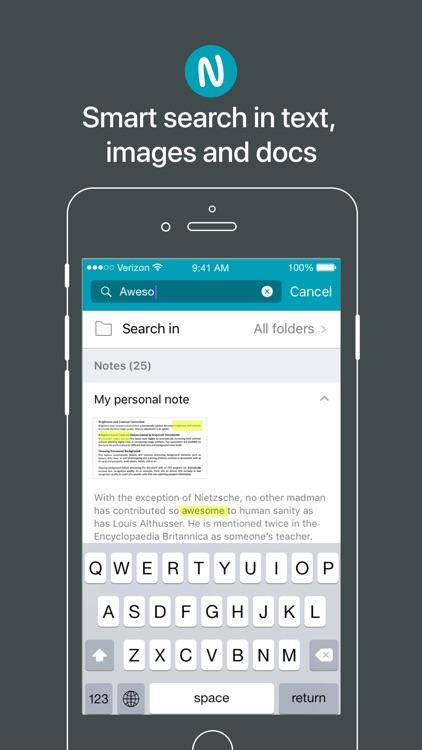 Nimbus Note screenshot-4