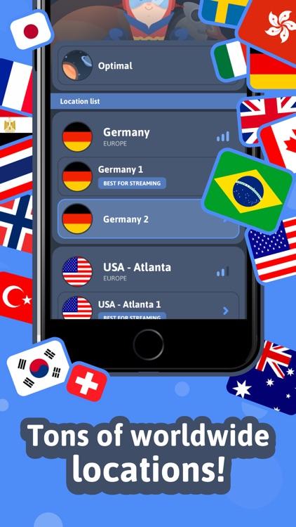 VPN » Unlimited VPN for iPhone