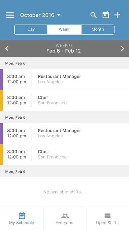 Ximble Employee Scheduling