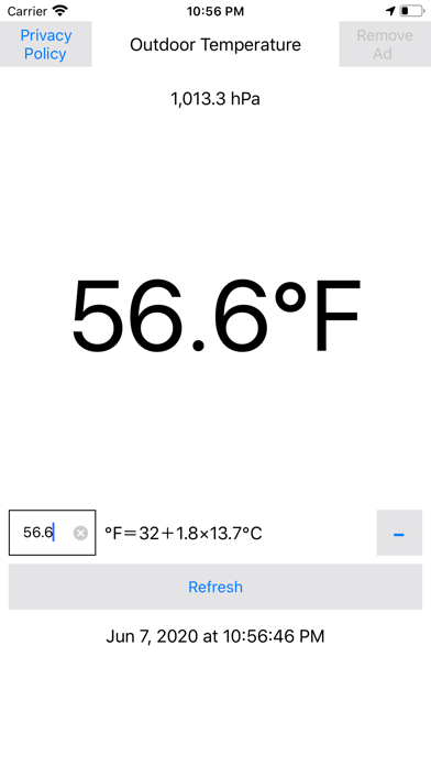 点击获取Fahrenheit Thermometer Plus