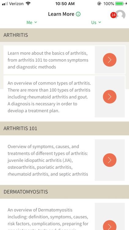 ArthritisPower screenshot-4