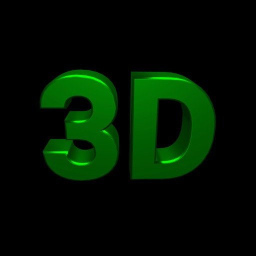 Banner 3D - scrolling text app icon