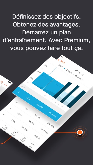 Screenshot for Strava – Running et Cyclisme in France App Store