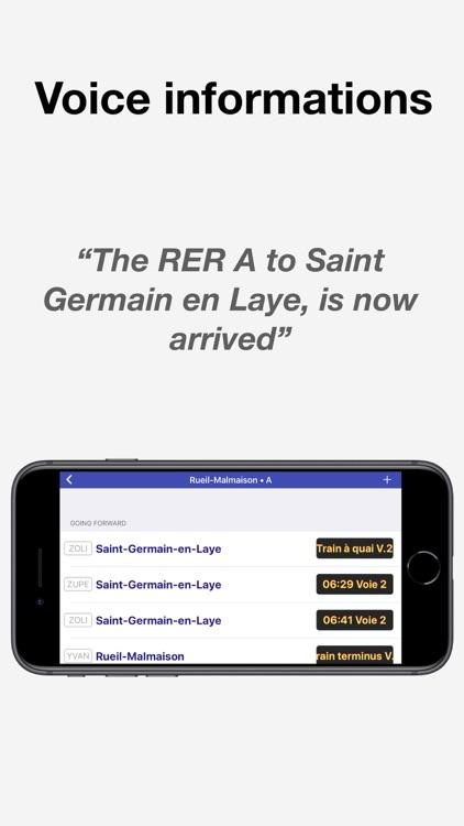 Mon Écran — RATP Schedules & + screenshot-3