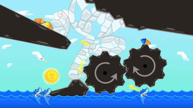 Ice Cream Mixer: Shark Games L