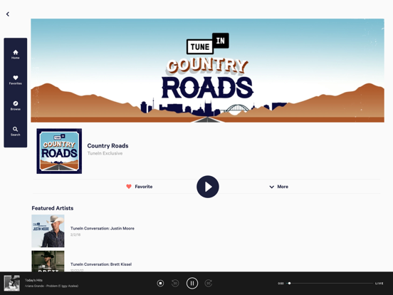 TuneIn Radio - Stream Live Radio screenshot