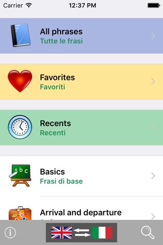 Wordy: Italian Base Phrasebook - náhled