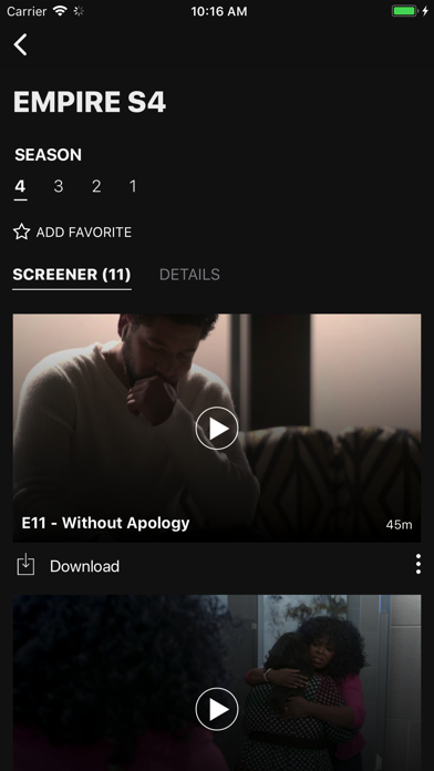 Digital Screeners Screenshot