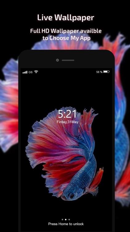 Live Wallpaper -HD Theme Maker screenshot-3