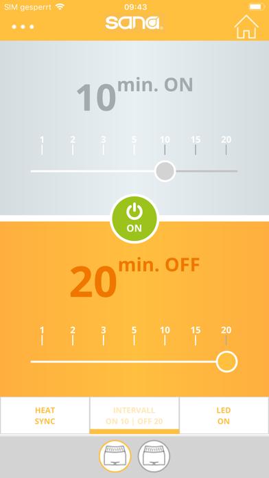 sana heat appScreenshot von 3