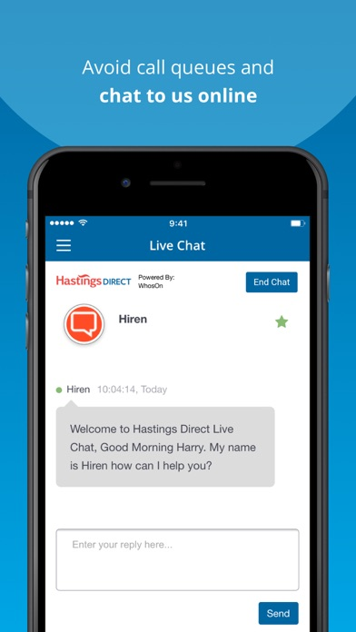 Hastings Direct Insurance screenshot four