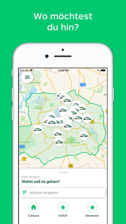 CleverShuttle: Ridepooling App screenshot-0
