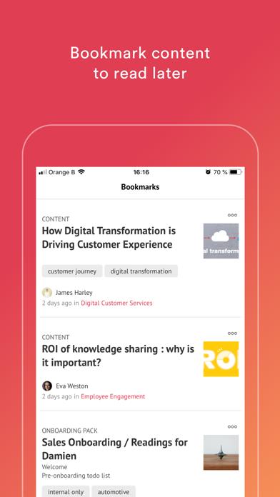 Elium - Knowledge Sharing screenshot three