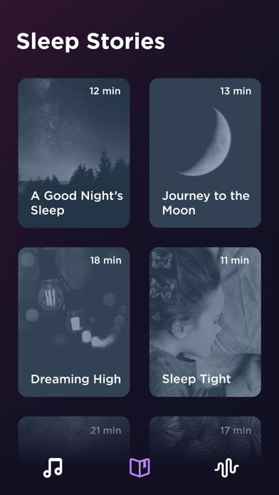 睡眠: 瞑想と快適な快眠のためのホワイトノイズのおすすめ画像4