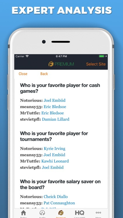 RotoGrinders Daily Fantasy screenshot-5