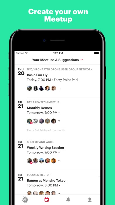 Screenshot for Meetup in United States App Store