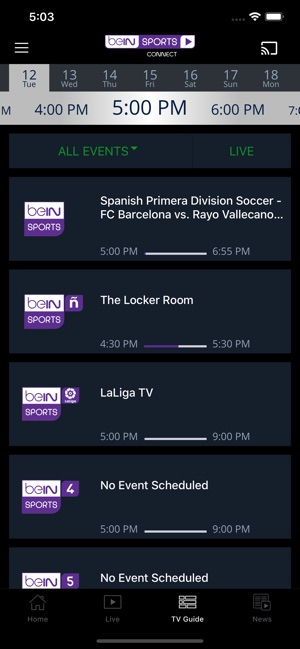 beIN SPORTS CONNECT on the App Store