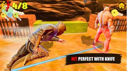 Ninja Assassin Knife Killer screenshot 2