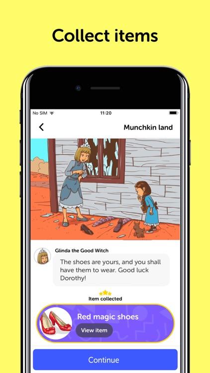 Wizard Of Oz - Chat Book screenshot-4