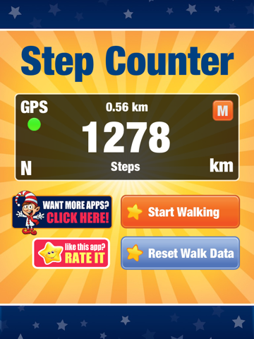 Pedometer - Step Counter - náhled