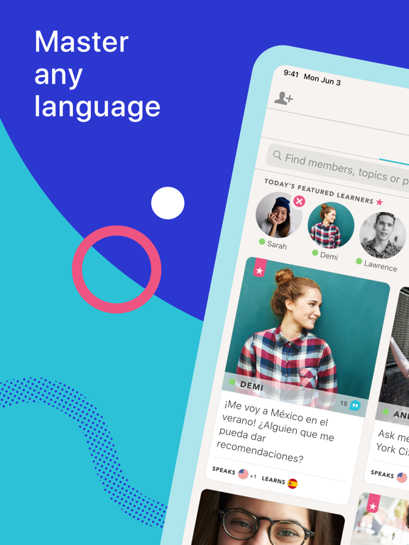 Tandem - Language Exchange and Teachers screenshot