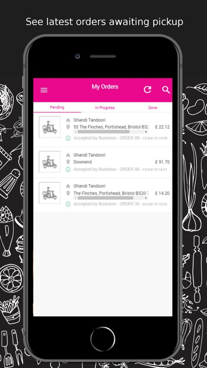 Delivery Driver app - MIS