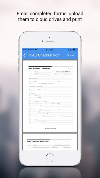 HVAC Inspection Checklist screenshot-4