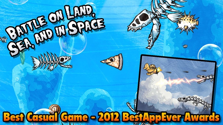 Pizza vs. Skeletons - Playond screenshot-4