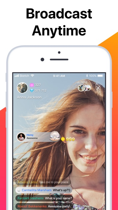 Screenshot for Tango - Live Video Broadcasts in South Africa App Store