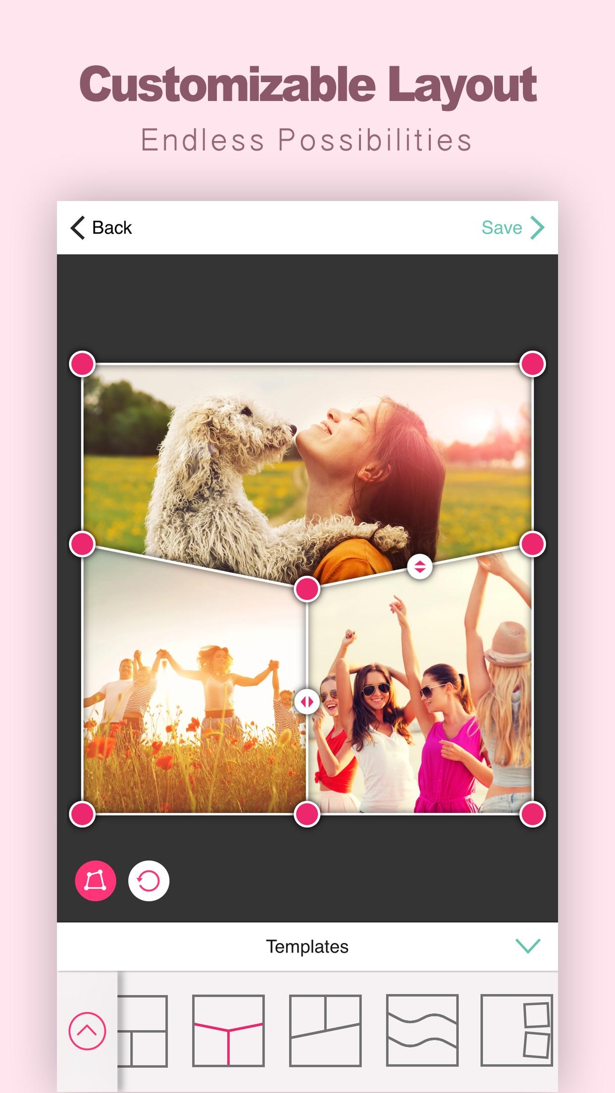 Encollage - Pic Collage Maker Screenshot