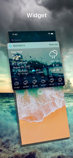 ‎Weather 14 days Pro