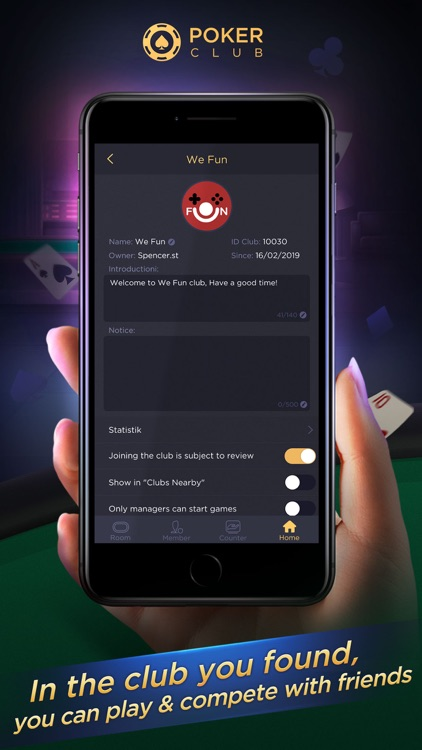 Poker Club-Texas with friends screenshot-3