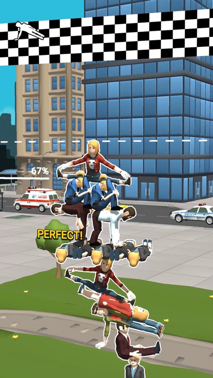 Human Tower!