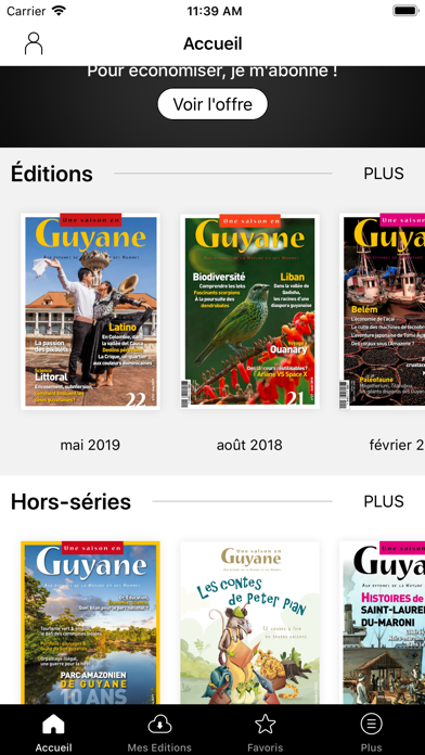 Une saison en Guyane magazine screenshot two