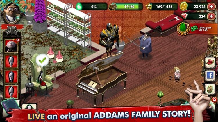 Addams Family: Mystery Mansion screenshot-0