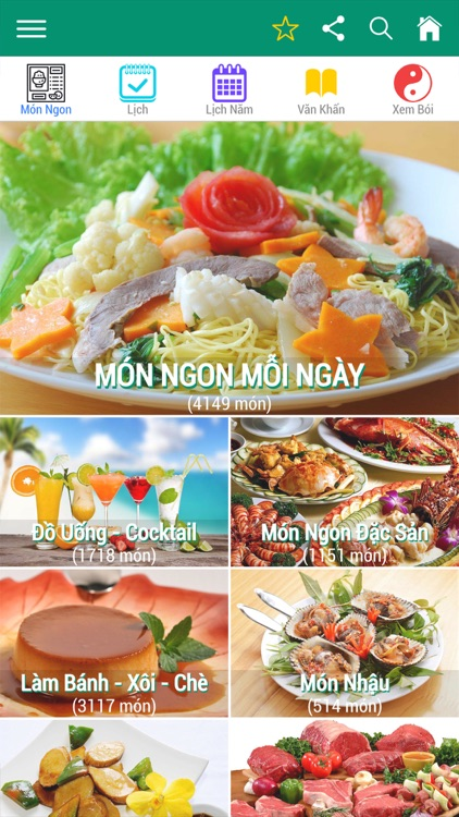 365 món ăn ngon mỗi ngày