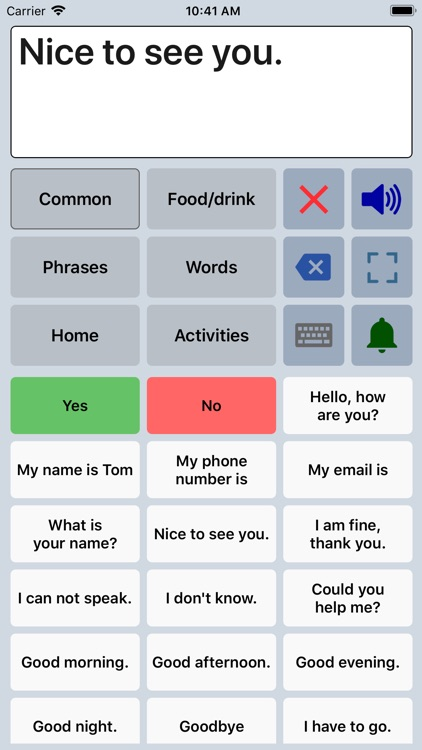 Speech Assistant AAC screenshot-6