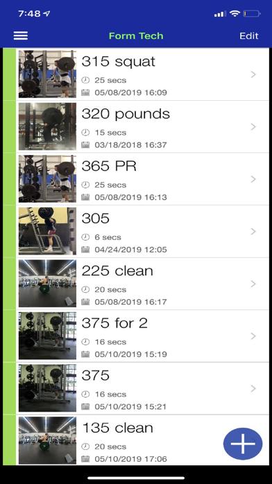 Form Tech Screenshots