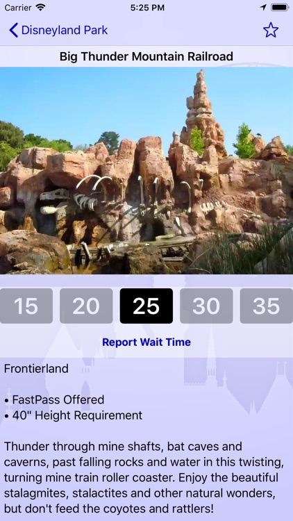 Wait Times for Disneyland screenshot-1