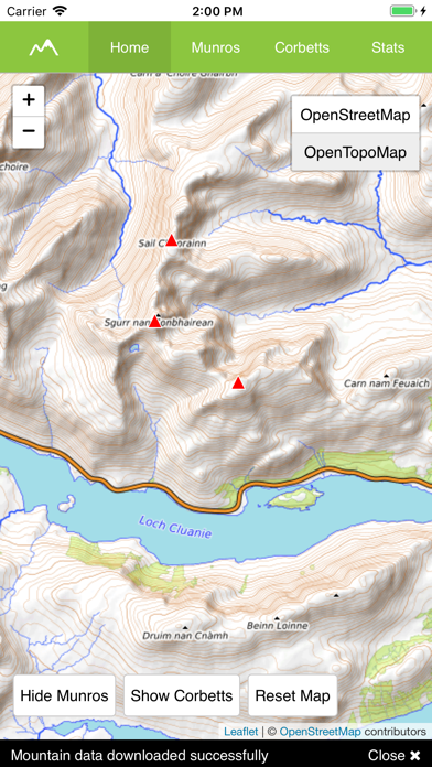 Munro Map screenshot 2