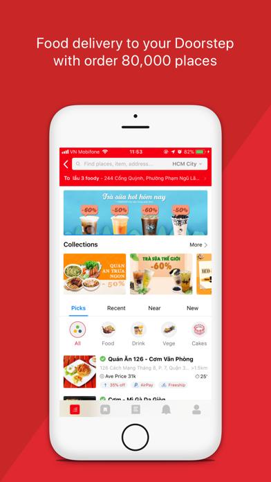 Foody - Find, Reserve, Deliver for Windows