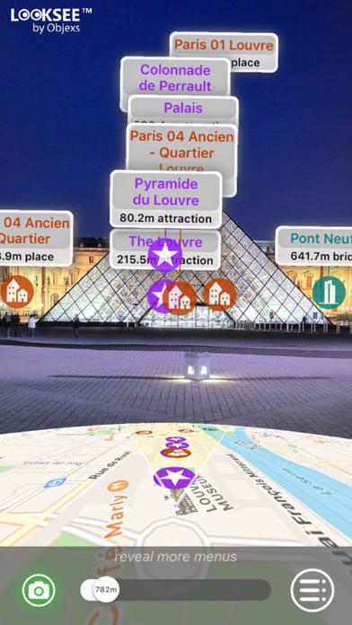 Paris Looksee AR screenshot four