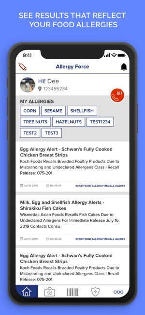 Allergy Force on the App Store