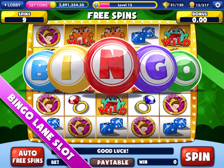 Bingo Lane HD screenshot-4